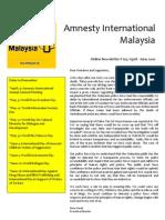 AIM Online Newsletter April - June 2010