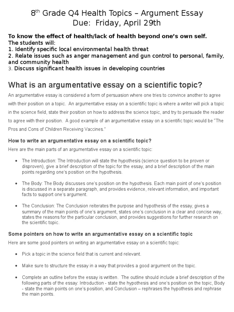 topics for the argumentative essay 20142 These top 135 persuasive essay and speech topics will excite you and your audience check out these intriguing topics.