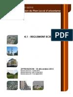 Vitry94 PLU 4-1 Vitry Reglement Ecrit