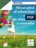 Raport Tehnici Eliminare Stres