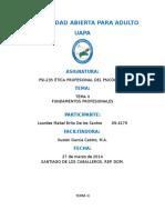 214860990 Tema II Fundamentos Profesionales