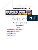 The Business Plan Workbook