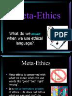 Intro Meta Ethics