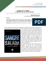 López, MD - (Reseña) Sangre Salada