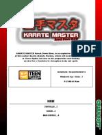 Karate Master Kdb Manual Eng