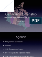 Conference Board of Canada Immigration Summit - April 2016