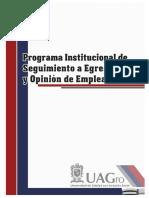 Programa Institucional de Seguimiento a Egresados-UAGro 2015