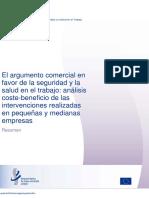 Analisis Costo-beneficio Intervención SST PYMES-ES