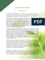 Capacitación en Buenas Prácticas Agrícolaspara Agricultores Minifundistas