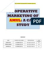 AMUL-A successful Coopertive Marketing Strategy