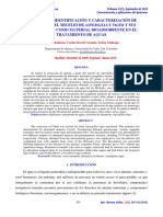 Caracterización y Aplicaciones Del Quitosano Tratamiento Aguas
