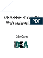 January 2007 ASHRAE Meeting Ventilation