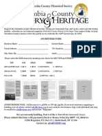 History&Heritage 2016 Rates