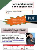 LAboratory 2-2012 Q&A