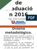 Diseño Metodológico 01-16