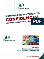 Hinterlaces - Monitor País 09, Situación Económica (03-04-2016)