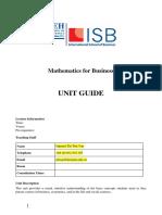 Syllabus - Math for Business - BBus - Nguyen Thi Thu Van.pdf