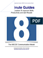 ABCDE Communications Model