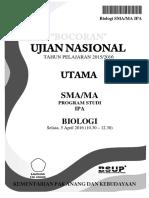 Bocoran Soal UN Biologi SMA IPA 2016 [Pak-Anang.blogspot.com](1)