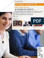 MGI Power of Parity in US