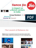 Reliance Jio & Its Impacts