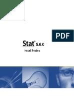 Stat 5.6.0 Install Notes