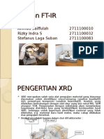 153704375-XRD-dan-FT-IR-ppt