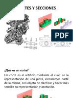 Cortes y Secciones,Dibujo técnico