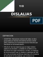 Disartrias Dislalias