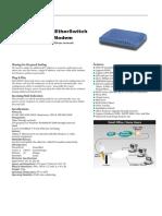 Abocom CAS1040 Switch User Manual