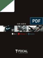 CarAudio Catálogo Focal