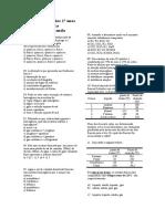 Lista de Exercícios 1º Anos Química (1)