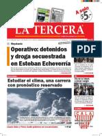 Diario La Tercera 07.04.2016