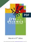 Bilan de la fête de la science (ed.2009)