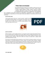 Platos Tipicos de Arequipa.docx
