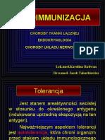 ¦çw 2, II semestr + autoimmunizacja