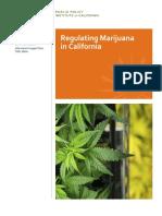 Regulating Marijuana in California