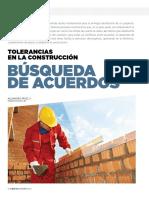 Tolerancias en la construccion