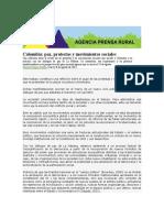 Colombia Paz Protestas Movimientos Sociales