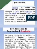 Ejercicios de Fronteras de Posibilidades