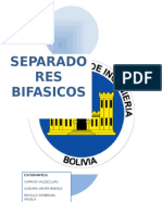 separador bifasico