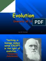 Darwin Evolution Revised