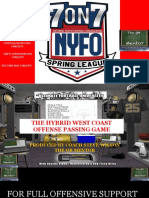 NYFO HWCO 7 ON 7 PASS GAME --5 STEP DROP CONCEPTS