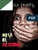 Nota de Suicidio - Sirkka Ports