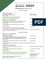 AQP WWWP - Programme