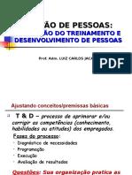 4 - Avaliação de Treinamento e Desenvolvimento de Pessoas