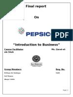 pepsico report
