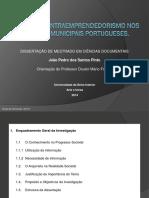Práticas de Intraempreendedorismo Nos Arquivos Municipais Portugueses