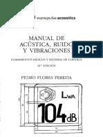 Manual de Acústica Ruido y Vibraciones