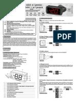 Manual de controlador de temperatura